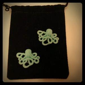 Jewelry - Pair of octopus gauges.